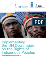 Rights of Indigenous Peoples Handbook for Parliamentarians English Version