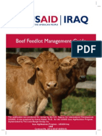 Beef Feedlot Management Guide