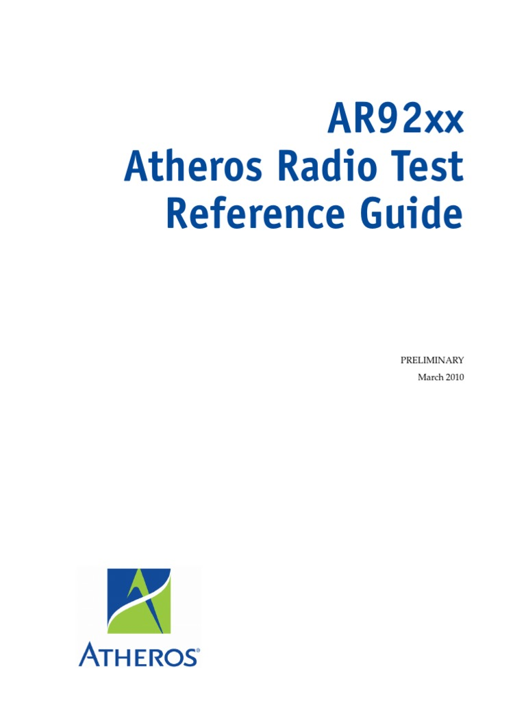 Atheros Anwi Diagnostic Download Driver