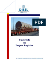 Case Study on logistics for large scale projects