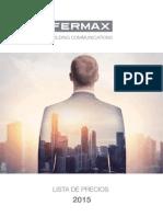 201501 Fermax Lista de Precios 2015 Pu01176