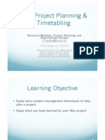 3. Project Planning Lecture Notes 1