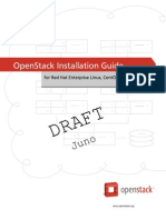 Openstack Install Guide Yum Trunk