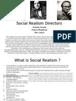 Social Realism Directors Case Study