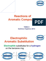 TEMA 6. Reactions of Aromatics Compounds