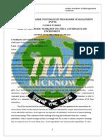 Pgp-i Term III Workshop Ege 2014-15