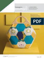 Hexagon Handbag free pattern