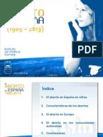 El Aborto en España_1985_2013