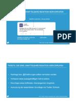 Twitter Webinar 01 - Marketing Für Unternehmen