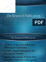 The Research Publication