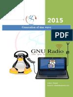 Sine Wave Generation Using GNU Radio
