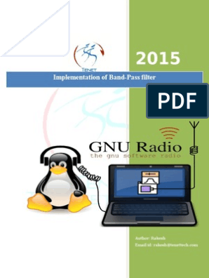 Band-Pass Filter on GNU Radio   Electronic Filter