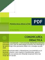 Curs 9 Comunicarea Didactica