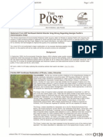D139 6-5-2009 FDEP the Post Excerpt