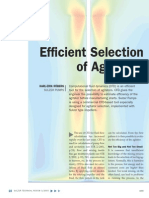 Efficient Selection of Agitators
