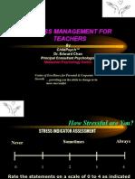 Stress Management for Teachers