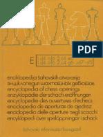 Informator - Enciclopedia de Aperturas de Ajedrez E 1978