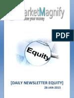 Equity Market Newsletter for Daily Investors