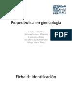 propedeutica ginecologica