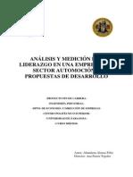 Analisis y Medición Del Liderazgo-Una Metodología