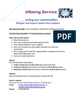 RAS Peer Support - Info on Discussion Sessions