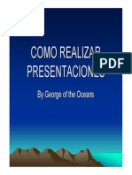Como Realizar Presentaciones