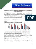 Nota de Prensa de INE 62