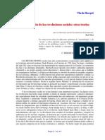 Skocpol - Introducción y conclusiones