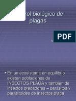 Control Biologico de Plagas