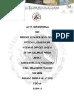 AF U1 Acta Constitutiva