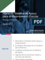 20140807 - Sistema de Apoyo (Gonzalo Muñóz)