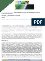 Margalef y La Sucesion Ecologica