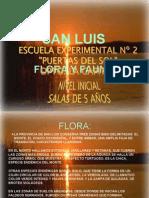 Presentación Flora Fauna - San Luis