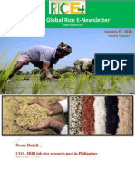 27th January,2015 Daily Global Rice E_Newsletter by Riceplus Magazine