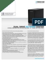 Datasheet Freecom Dual Drive Network Center en Copy
