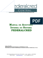 Manual de Auditoria Interna Do Sistema FEDERALCRED