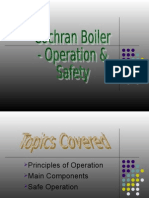 Boiler Operation and Safety Precaution