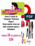 Cartaz desapega