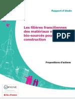 Les Filieres Franciliennes Des Materiaux Et Produits Bio Sources Pour La Construction