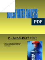 Boiler Water Analysis