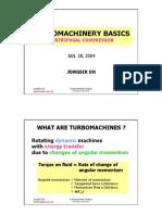 Turbomachinery Basics