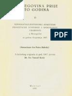 Šematizam Fra Petra Bakule  - Hrvatski prijevod