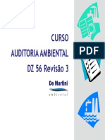 Curso Auditoria Ambiental Dz 56 de Martini Ambiental