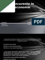 Concurenta În Economie