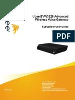 Ubee Evw3226 Manual