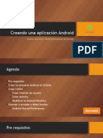 Curso de aplicaciones Android