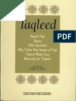Taqleed (Sunni)