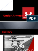 Under Armour Project Presentation