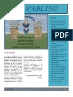 """El Pablino"" Boletìn Informativo de la I.E. Pablo Patròn- Chosica"