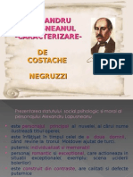 Alexandru Lapusneanu Caracterizare